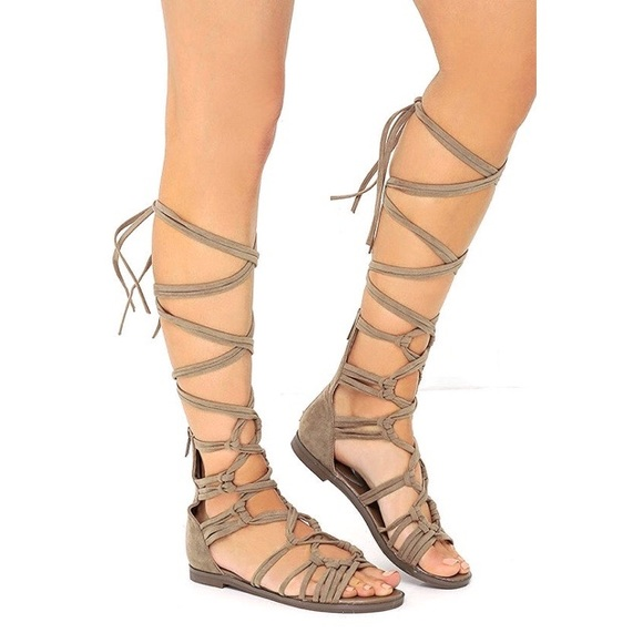 Shoes | Laceup Gladiator Sandals | Poshmark